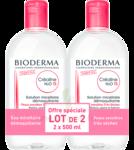 Acheter CREALINE TS H2O Solution micellaire sans parfum nettoyante apaisante 2Fl/500ml à BOUC-BEL-AIR