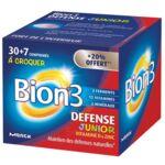 Acheter Bion 3 Défense Junior Comprimés à croquer framboise B/30+7 à BOUC-BEL-AIR