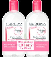 CREALINE TS H2O Solution micellaire sans parfum nettoyante apaisante 2Fl/500ml à BOUC-BEL-AIR