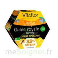 Vitaflor Bio Gelée Royale 1500mg Solution Buvable 20 Ampoules/15ml Promotion à BOUC-BEL-AIR