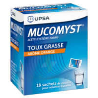Mucomyst 200 Mg Poudre Pour Solution Buvable En Sachet B/18 à BOUC-BEL-AIR