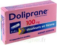 Doliprane 100 Mg Suppositoires Sécables 2plq/5 (10) à BOUC-BEL-AIR