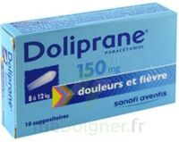 Doliprane 150 Mg Suppositoires 2plq/5 (10) à BOUC-BEL-AIR