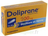 Doliprane 200 Mg Suppositoires 2plq/5 (10) à BOUC-BEL-AIR