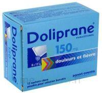 Doliprane 150 Mg Poudre Pour Solution Buvable En Sachet-dose B/12 à BOUC-BEL-AIR