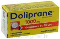 DOLIPRANE 1000 mg Comprimés effervescents sécables T/8 à BOUC-BEL-AIR