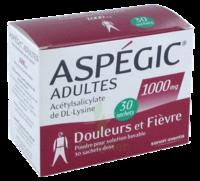Aspegic Adultes 1000 Mg, Poudre Pour Solution Buvable En Sachet-dose 30 à BOUC-BEL-AIR