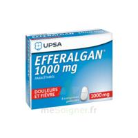 Efferalgan 1000 Mg Comprimés Pelliculés Plq/8 à BOUC-BEL-AIR