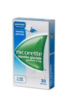 NICORETTE 2 mg Gom à mâcher médic sans sucre menthe glaciale Plq/30gom à BOUC-BEL-AIR