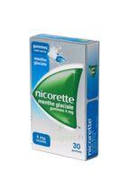 Nicorette 4 Mg Gom à Mâcher Médic Sans Sucre Menthe Glaciale Plq/30gom à BOUC-BEL-AIR