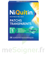 NIQUITIN 21 mg/24 heures, dispositif transdermique Sach/28 à BOUC-BEL-AIR