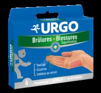 Urgo Brulures-blessures Petit Format X 6 à BOUC-BEL-AIR