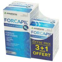 Forcapil Gélules Croissance Vitalité Cheveux Ongles B/180+60 à BOUC-BEL-AIR