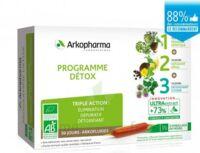 Arkofluide Bio Ultraextract Coffret Programme Détox 3x10 Ampoules/10ml à BOUC-BEL-AIR