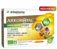Arkoroyal Immunité Fort Solution Buvable 20 Ampoules/10ml à BOUC-BEL-AIR