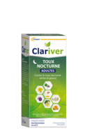 Clariver Sirop Toux Nocturne Adulte Fl/150ml à BOUC-BEL-AIR