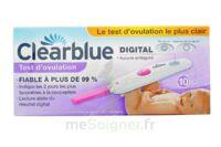 TEST D'OVULATION DIGITAL CLEARBLUE x 10 à BOUC-BEL-AIR