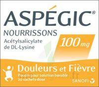 Aspegic Nourrissons 100 Mg, Poudre Pour Solution Buvable En Sachet-dose à BOUC-BEL-AIR