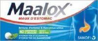 Maalox Hydroxyde D'aluminium/hydroxyde De Magnesium 400 Mg/400 Mg Cpr à Croquer Maux D'estomac Plq/40 à BOUC-BEL-AIR