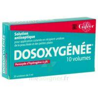 Dosoxygenee 10 Volumes, Solution Pour Application Cutanée En Récipient Unidose à BOUC-BEL-AIR