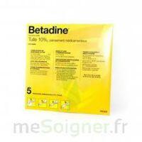 Betadine Tulle 10 % Pans Méd 10x10cm 5sach/1 à BOUC-BEL-AIR