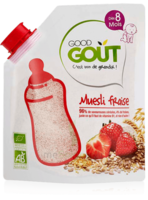 Good Gout Cereales Muesli Fraise Bio Des 8 Mois 200g à BOUC-BEL-AIR