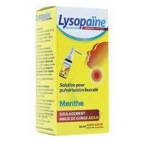 LysopaÏne Ambroxol 17,86 Mg/ml Solution Pour Pulvérisation Buccale Maux De Gorge Sans Sucre Menthe Fl/20ml à BOUC-BEL-AIR