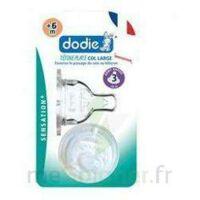 Dodie Sensation+ Tétine Plate Débit 2 Silicone 0-6mois à BOUC-BEL-AIR