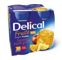 DELICAL BOISSON FRUITEE Nutriment multi fruits 4Bouteilles/200ml à BOUC-BEL-AIR