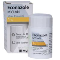 ECONAZOLE MYLAN 1 % Pdr appl cut Fl/30g à BOUC-BEL-AIR
