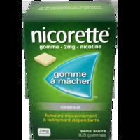 Nicorette 2 Mg Gom à Mâcher Médic Sans Sucre Menthe Fraîche Plq/105gom à BOUC-BEL-AIR
