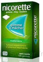 NICORETTE 2 mg Gom à mâcher médic sans sucre menthe fraîche Plq/30gom à BOUC-BEL-AIR