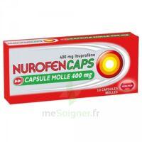 Nurofencaps 400 Mg Caps Molle Plq/10 à BOUC-BEL-AIR