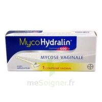 MYCOHYDRALIN 500 mg, comprimé vaginal à BOUC-BEL-AIR