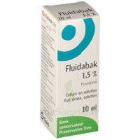 FLUIDABAK 1,5 %, collyre en solution à BOUC-BEL-AIR