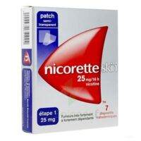Nicoretteskin 25 mg/16 h Dispositif transdermique B/28 à BOUC-BEL-AIR