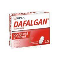 DAFALGAN 1000 mg Comprimés pelliculés Plq/8 à BOUC-BEL-AIR