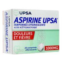 Aspirine Upsa Tamponnee Effervescente 1000 Mg, Comprimé Effervescent à BOUC-BEL-AIR