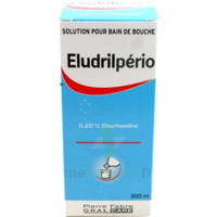 Eludrilperio 0,2 %, Solution Pour Bain De Bouche à BOUC-BEL-AIR