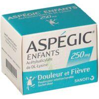 Aspegic Enfants 250, Poudre Pour Solution Buvable En Sachet-dose à BOUC-BEL-AIR