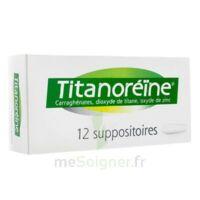 TITANOREINE Suppositoires B/12 à BOUC-BEL-AIR