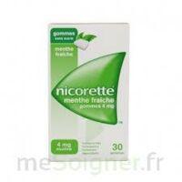 NICORETTE 4 mg Gom à mâcher médic sans sucre menthe fraîche Plq/30gom à BOUC-BEL-AIR