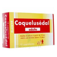 Coquelusedal Adultes, Suppositoire à BOUC-BEL-AIR