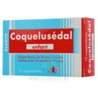 COQUELUSEDAL ENFANTS, suppositoire à BOUC-BEL-AIR