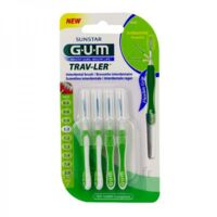 GUM TRAV - LER, 1,1 mm, manche vert , blister 4 à BOUC-BEL-AIR
