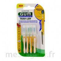 Gum Trav - Ler, 1,3 Mm, Manche Jaune , Blister 4 à BOUC-BEL-AIR