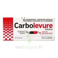 Carbolevure Gélules Adulte Plq/30 à BOUC-BEL-AIR
