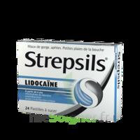Strepsils lidocaïne Pastilles Plq/24 à BOUC-BEL-AIR