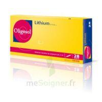 Oligosol Lithium Solution Buvable En Ampoule Ou En Récipient Unidose 28amp/2ml à BOUC-BEL-AIR