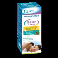 Quies Bi-pack 2 Sprays Buccal Et Nasale Anti-ronflement à BOUC-BEL-AIR